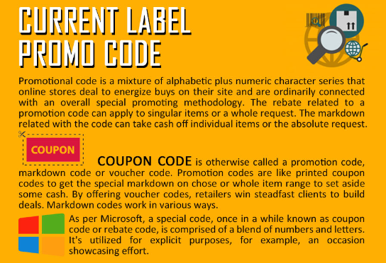 Uses Of Current Label Promo Codes